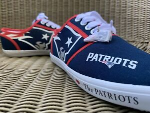 NFL New England I Love The Patriots Shoes Men's Size 6.5 / Approx Women 8