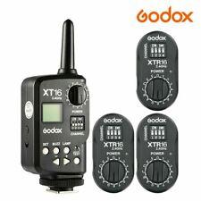 Godox 2.4G XT-16 Transmitter Trigger XTR-16 Receiver For DE300 SK400 DP300 QT600