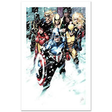 Stan Lee signed Avengers Marvel Original Comic Artworks Coa Captain America