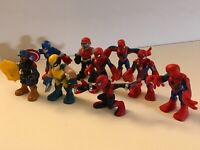 Hasbro Small Heroes Action Figure Lot Marvel Spider Man