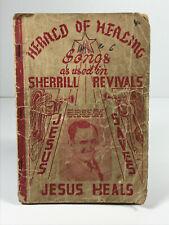 1910 1920 Sherrill Baptist Christian Revival Song Music Book Farmington Missouri