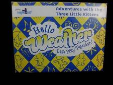 Kindermusik Sticker Play Set Hello Weather Lets Play Together 3 Kittens NEW