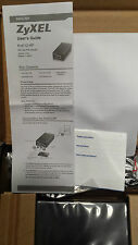 ZYXEL POE12-HP POWER OVER ETHERNET INJECTOR. Fedex Shipping