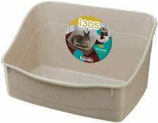 Rabbit Litter Tray Rodent Cages Small Animals Hygienic Toilet 37x27x18 5 Cm
