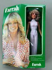 Vintage Farrah Fawcett-Majors Fashion Doll in Box 1977