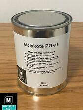 NEW Molykote PG-21 Dow Corning Plastislip Grease 500g (17.6 OZ)