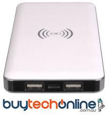 Qi Wireless 6000mah Power Bank Qi Charging Laser