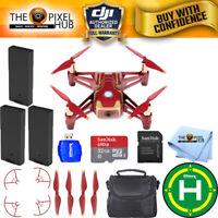 DJI Ryze Tech Tello Quadcopter Iron Man Edition Drone 3 Battery Pro Bundle