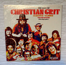 Newpax Records The Best Of Christian Grit 2 lp,EXTREMELY RARE,STILL SEALED MINT!