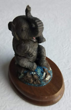Elephant Calf - The Bronze Menagerie - Safari Collection - Valerie Skidmore 1980