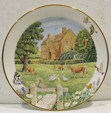 Cotswold Manor by Peter Banett - The Franklin Mint Heirloom Collection