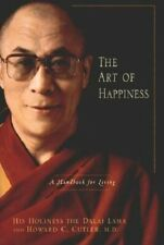 The Art of Happiness by Dalai Lama Hardcover Book dali FREE SHIPPING zen