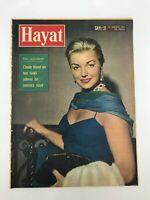 HAYAT (LIFE) #31 - Turkish Magazine - 1960s - ESTHER WILLIAMS COVER - Liz Taylor