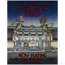 """The Grateful Dead """"Now Playing"""" Nyhs Poster ~ by Dennis Larkins ~ Brand New!"""