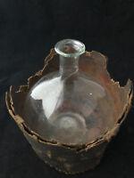 Boule de Dentellière dans son Ecrin Verre Soufflé XVIII Antique French Glass