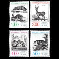France 1988 - Animals - Sc 2123/6 MNH