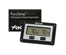 Xikar PuroTemp Rectangle Digital Hygrometer - 833XI - Free Shipping