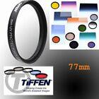 Tiffen 77MM UV Lens Protector Filter for Canon EOS 6D 7D 50D 60D 70D 5D Mark III