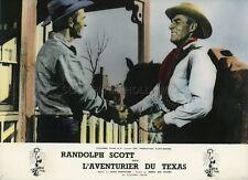 RANDOLPH SCOTT BUCHANAN RIDES ALONE  1958 VINTAGE PHOTO ORIGINAL