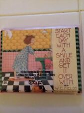 "NWT Mary Engelbreit set of 6 note cards ""Start each day with a smile...."