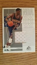 Antonio McDyess Basketball card with authentic Jersey piece, Denver nuggets