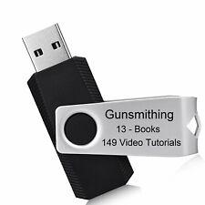 Gunsmithing 13 Books 149 Videos Tutorials Gunsmith Firearms Usb Flash Drive