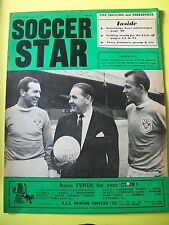 Soccer Star Magazine, 04.08.1967. Blackpool group picture on the front cover