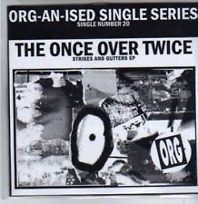 (BR264) Strikes and Gutters EP, The Once Over Twice - Ltd Ed CD
