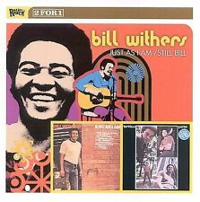 Just as I Am/Still Bill by Bill Withers (CD, Oct-2003, Raven)
