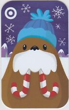 Target Walrus Blue Hat Candy Cane Tusks Snow Winter 2016 Gift Card 790-01-2318