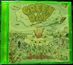 GREEN DAY - DOOKIE CD 1994 GREEN JEWEL CASE REPRISE RECORDS EUROPE
