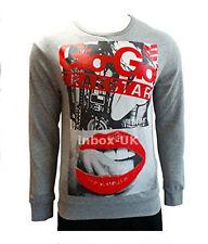 Mens Gio Goi Sweatshirt New Long Sleeve Top Size Medium