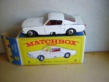 Matchbox Ford Mustang Nr.8 von 1967 mit Original Box  OVP