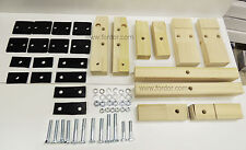 1930 1931 Model A Ford Body Mounting Kit Includes Blocks, Pads & Hardware Coupe