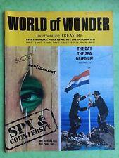 World of Wonder - no.80 - 2nd OCTOBRE 1971 - Espion & Counterspy - MAGAZINE