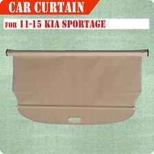 Fit 11-15 Kia Sportage Cargo Cover Retractable Beige Rear Truck Luggage Shade