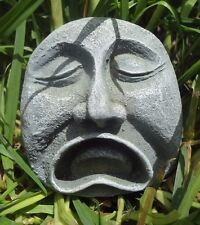 """sad face rock mold latex only mould see all 3 styles 3.25 x 3.25 x 1.5"""""""
