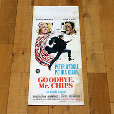 GOODBYE MR CHIPS locandina poster O'Toole Petula Clark Michael Redgrave AD52