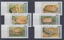 Fish Marine Life Togo 2420 - 25 Turtles (MNH)