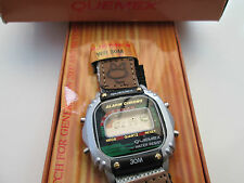 watch  by quemex, lcd for parts only ,,in card box