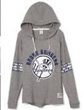 Victorias Secret Pink BLING NEW YORK YANKEES BRONX BOMBERS Hoodie NWT S