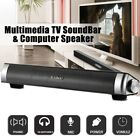 USB Computer Sound Bar Stereo Mini Wired Speakers System For