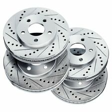 Fit 2004-2012 Mitsubishi Galant,Eclipse PowerSport Full Kit  Brake Rotors