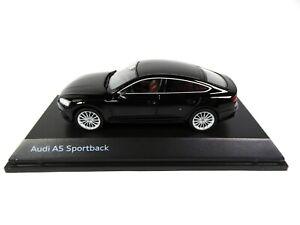 Audi A5 Sportback Mythos Black 1/43 Spark Dealer Pack Voiture Model Car 5033