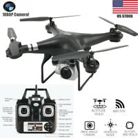 2.4G 4CH 6-Axis Gyro Hovering RC Quadcopter with 1080P HD WIFI Camera Drone FPV