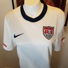 Nike Dri-Fit White Tee T-shirt mujer nos S equipo de fútbol b25eacdb89f47