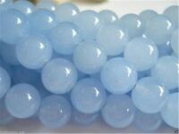 8mm Brazilian Aquamarine Round Gemstone Loose Bead 15