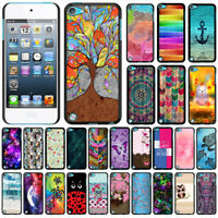 For Apple iPod Touch 5 5th/ 6 6th Gen Patterned Slim Fit Hard Case Back Cover