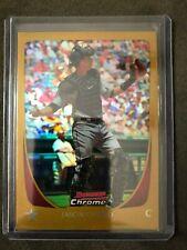 2011 Bowman Chrome Gold Refractors #120 Jason Castro - Houston Astros #'d 47/50