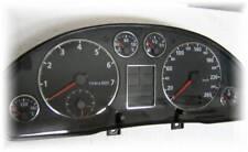 D Audi A4 B5 Chrom Tachoringe - Edelstahl poliert 7 teilig